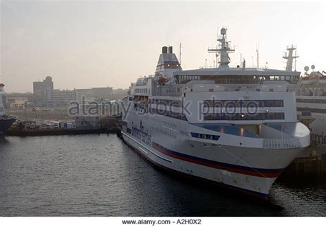 Catamaran Ferry Normandie by Brittany Ferries Normandie Ship Stock Photos Brittany