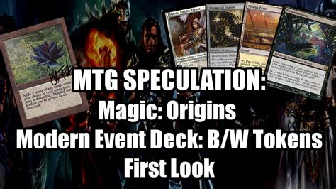 Mtg Illusion Event Deck by Modern Event Deck Is B W Tokens And Magic Origins