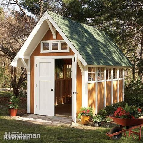 Garden Shed Illustrations And Materials List The Family