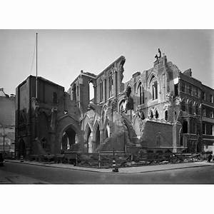 Bomb damage to St. John the Evangelist, Red Lion Square ...