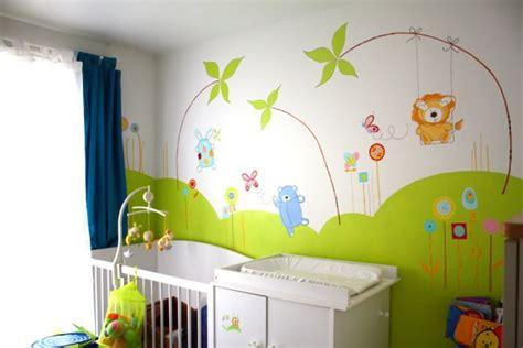 chambre bebe jungle conceptions de maison blanzza
