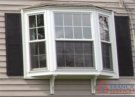 Bay Or Bow Window Replacement  New Construction In Ma