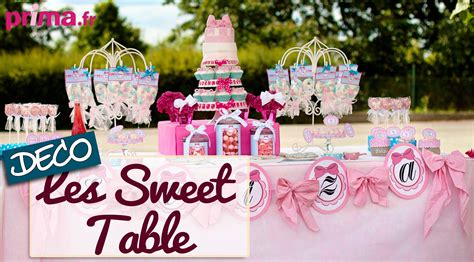 les sweet table id 233 e d 233 co pour un buffet d anniversaire