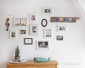 Idee Für Fotowand : maritime bilderwand mit diy libellengl ck ~ Markanthonyermac.com Haus und Dekorationen