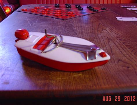 Toy Boat Wind Up by Wind Up Metal Toy Boat Made In Japan Excellent