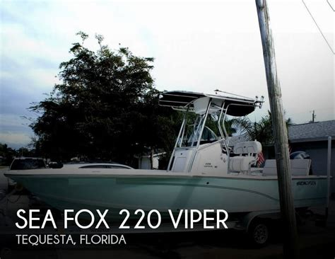 Used Sea Fox Boats For Sale In Texas by Used Center Console Sea Fox Boats For Sale 4 Boats
