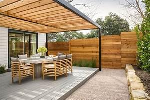 Sonnenschutz Für Garten : 29 fabelhafte ideen f r terrassen berdachung aus holz im garten ~ Markanthonyermac.com Haus und Dekorationen