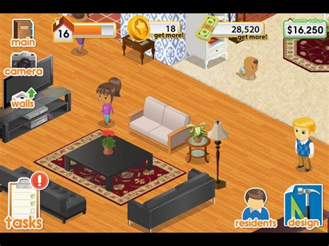 #1 Home Decor Game : Design This Home> Ipad, Iphone, Android, Mac & Pc Game