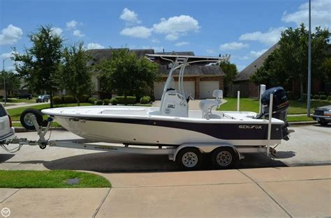 Used Sea Fox Boats For Sale In Texas used center console sea fox boats for sale 4 boats