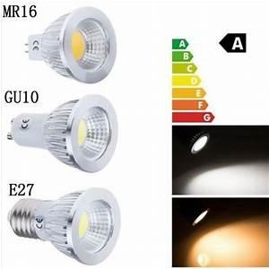 Led 5w Gu10 : super bright cob led lamp gu10 mr16 lampada led bulb e27 3w 5w 7w spot light spotlight gu 10 luz ~ Markanthonyermac.com Haus und Dekorationen