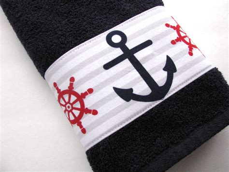 themed bath towels anchor bath towels