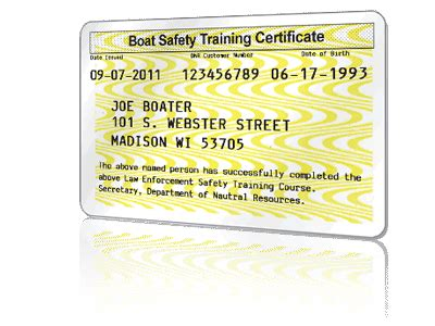 Online Boating License by Get Your Wisconsin Boating License Online Boaterexam 174