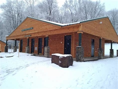 new bathhouse with shower rooms picture of allegany state park cground salamanca