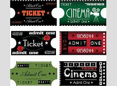 Ticket free vector download 159 Free vector for