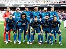 Valencia 14 Real Madrid A glimpse of last season