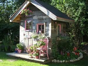 Gartenhaus Shabby Chic : gartenhaus inspiration 23 originelle ideen f r ihre ruhe oase im garten ~ Markanthonyermac.com Haus und Dekorationen