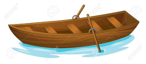 Cartoon Wood Boat by Skiff Clipart Clipground