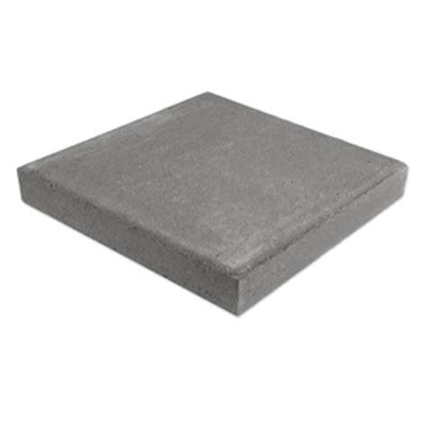shop gray color square concrete patio common 16 in x 16 in actual 16 in x 16