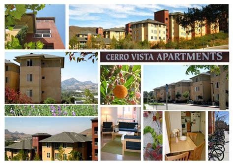 cerro vista photos housing cal poly san luis obispo