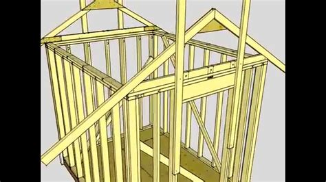 shed 8 x 10 free 8 x10 shed plans