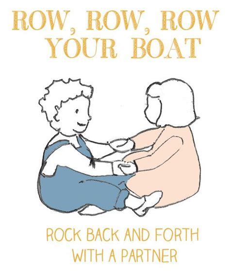 Row Row Row Your Boat Vicky Arlidge by Row Row Row Your Boat First Nursery Rhymes Pinterest