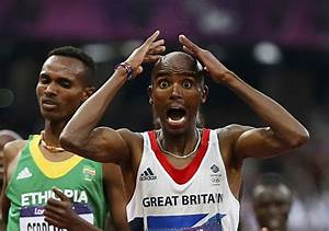 London 2012: Britain's Mo Farah feels the crowd's love at ...