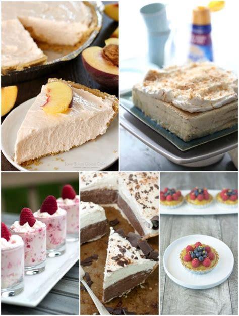 25 no bake desserts for bread booze bacon