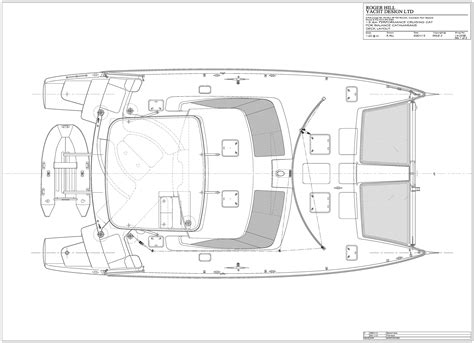 Catamaran Hull Dimensions by 451