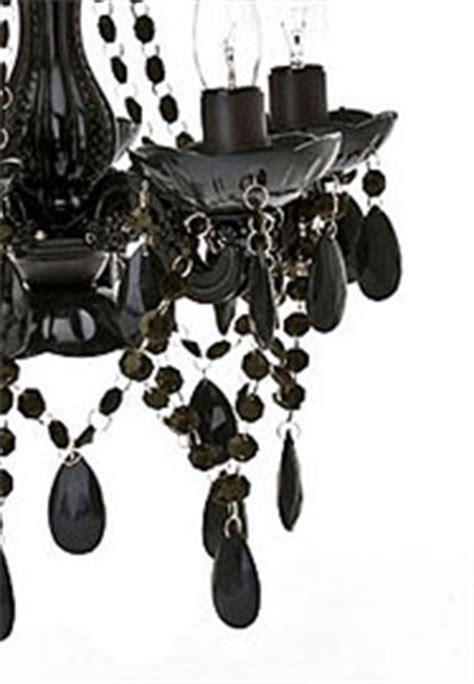 Leitmotiv Gypsy Chandelier Ceiling Light Small Black