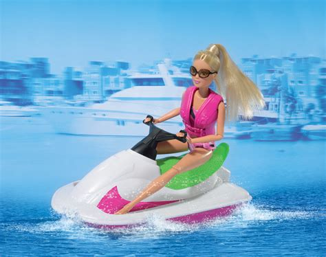 Barbie Jet Boat steffi love jet boat and fashion packs
