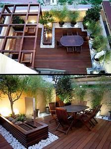 Terrassengestaltung Kleine Terrassen : dachterrasse gestalten tipps und 42 tolle ideen haus garten terrassen zenideen ~ Markanthonyermac.com Haus und Dekorationen