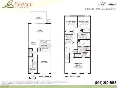 Townhouse Plans With Garage