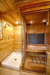 in home sauna Sauna in a Tiny House | Sacred Habitats