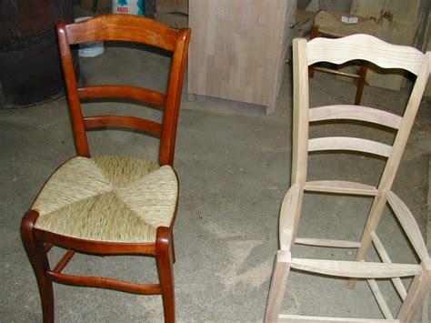 comment reparer une chaise en paille