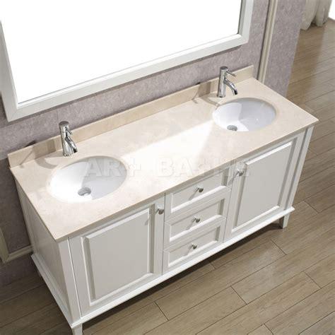 bathe 63 white bathroom vanity solid hardwood vanity