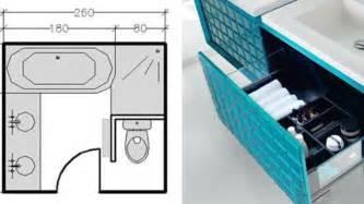 immobilier plan salle de bain 3m2