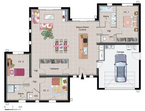 les 25 meilleures id 233 es de la cat 233 gorie plans de maison sur plans 233 tage maison