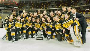 Michigan Tech wins 2017 Ice Breaker Tournament in Minnesota