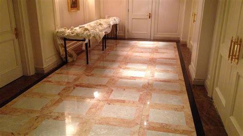 Stone Floor Restoration At The Bentley Hotel  Renue Uk