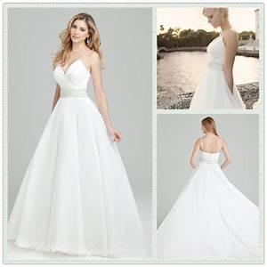 Aliexpress.com : Buy Elegant New v shaped neckline White ...