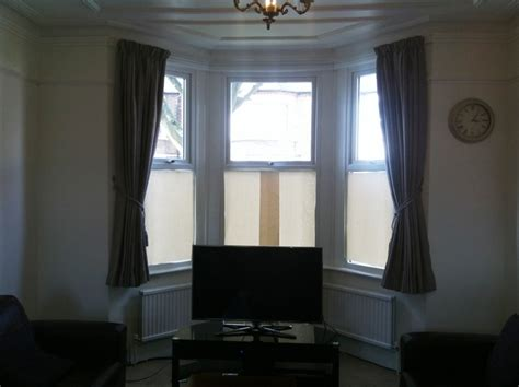 bay window track and curtain fitted in hanwell 171 curtain tracks and blind fitter in