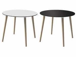Runder Weißer Tisch : runder wei er beistelltisch energiemakeovernop ~ Markanthonyermac.com Haus und Dekorationen