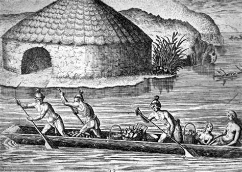 Types Of Native American Boats by Native American Canoes History Of Sc Slide Collection