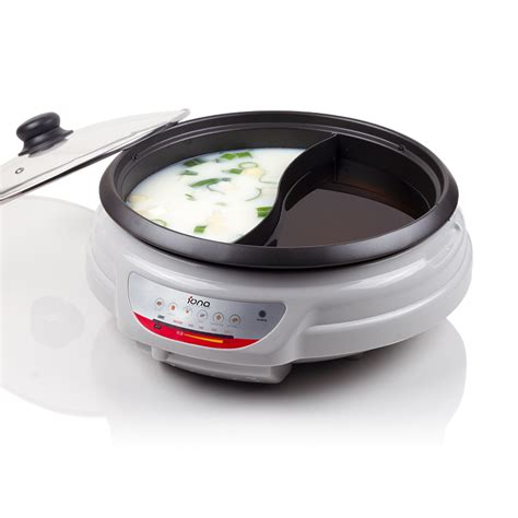 iona 5 0l shabu shabu steamboat pot electric skillet