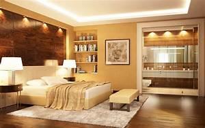 Welche Farbe Schlafzimmer : wie sie mit licht und farbe jede wohnung gem tlicher machen ~ Markanthonyermac.com Haus und Dekorationen