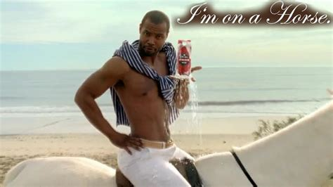 I M On A Boat Old Spice by I M On A Horse Isaiah Mustafa Old Spice Know Your Meme