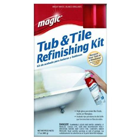 home depot bathtub paint 17 oz bath tub and tile refinishing kit spray on epoxy in