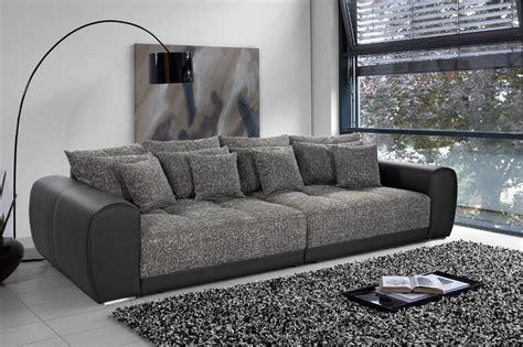 canap 233 3 places design noir gris fonc 233 royal