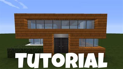 Minecraft Kleines Haus  Holz Quarz Bauen Tutorial