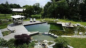 Badeteich Im Garten : schwimmteich selber bauen so sparen heimwerker kosten ~ Markanthonyermac.com Haus und Dekorationen